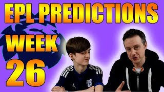 Premier League Week 26 Football Score and Result Predictions EPL
