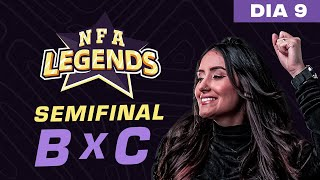 FREE FIRE AO VIVO - NFA LEGENDS SEASON 1 -  GRUPO A x C - DIA 9