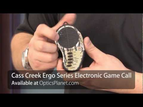 Cass Creek Ergo Series Compact Electronic Handheld Game Call - OpticsPlanet.com Product in Focus