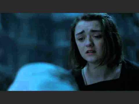 Arya Stark goes blind