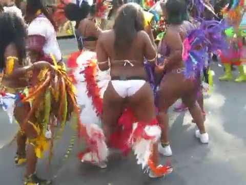 Sensual Dancing at West Indies Day Parade in NYC