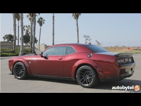 Dodge Challenger Hellcat Widebody Test Drive Video Review