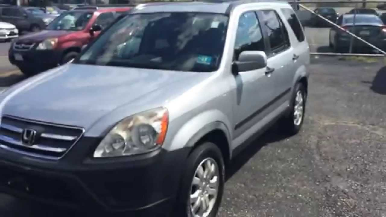 2005 Honda Cr V Manual Trans Silver Youtube Rh Youtube Com 2005 Honda Cr V  Shop