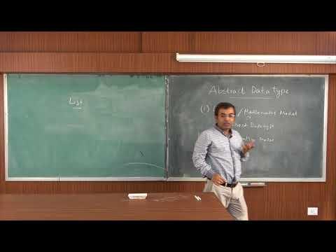 DATA STRUCTURE | LECTURE - 2 | PROF. DR. HIMADRI NATH SAHA |Gymkhana TV | IEM