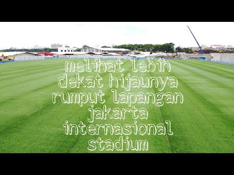 UPDATE PROGRES LAPANGAN LATIHAN KE 2 JAKARTA INTERNASIONAL STADIUM || UPDATE NOVEMBER 2020