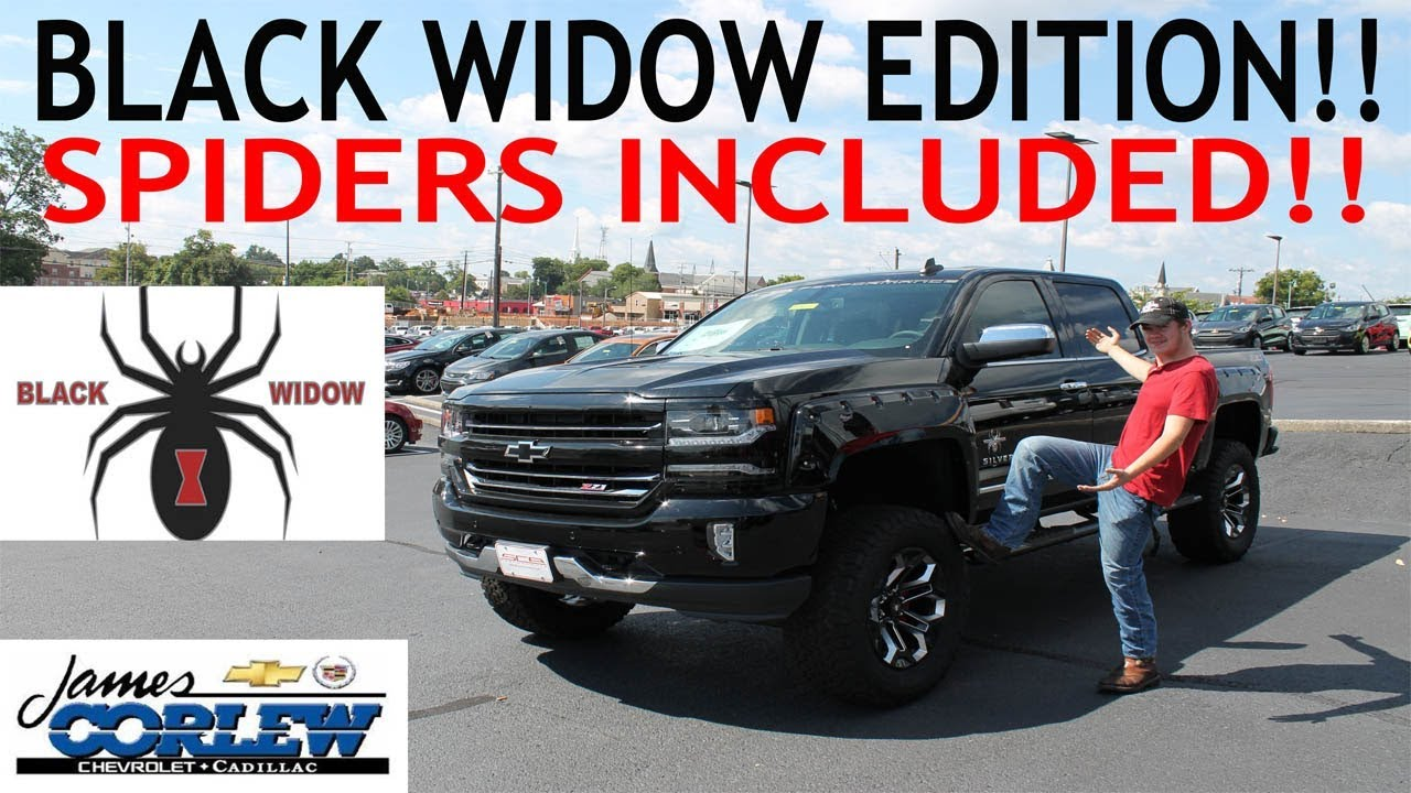 SCA Performance: 2017 Silverado Black Widow Edition ...