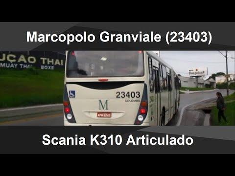 Viagem no Marcopolo Granviale Scania K310 (23403)