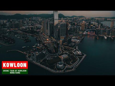 Kowloon Hong Kong Travel By Drone - Hong Kong City Kowloon Drone Travel - Dream Trips