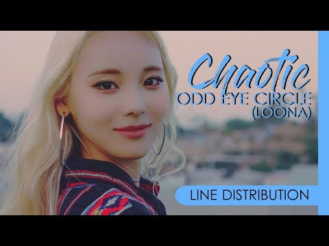ODD EYE CIRCLE (LOONA) - CHAOTIC | Line Distribution