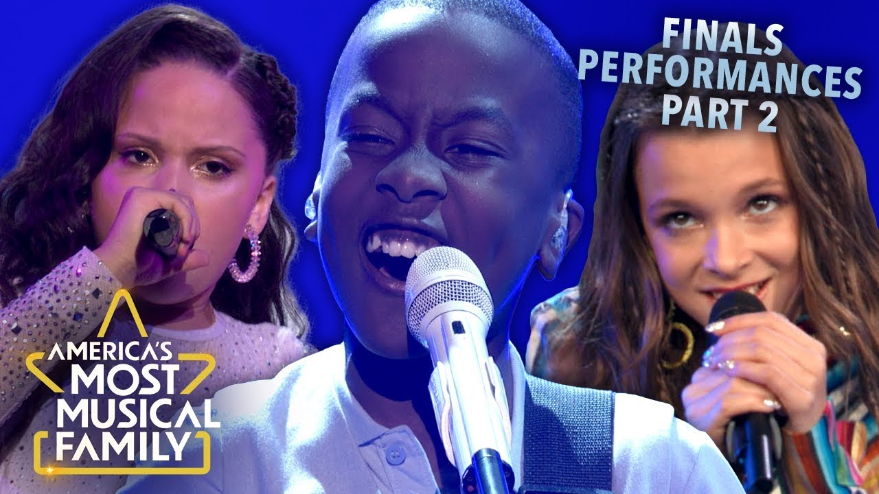 Every Performance From the Finals Pt. 2 | America's Most Musical Family Season 1