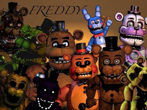 All Freddys Do The FNAF Toreador March