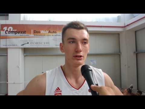 Daniel Golebiowski 2017 FIBA U20 Interview