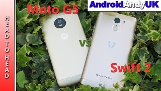 Head to Head: Lenovo Moto G5 vs Wileyfox Swift 2