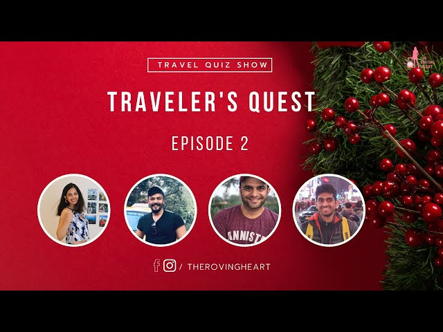 Traveler's Quest - Episode 2   Online Travel Quiz Show   It's All About Christmas