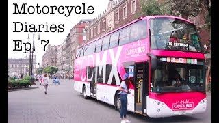 Video Motorcycle Diaries Ep. 7 EXPLORING MEXICO CITY ON A BUS download MP3, 3GP, MP4, WEBM, AVI, FLV April 2018