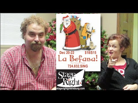 La Befana: A Christmas Musical (Dec 20-22; Stage Right! Greensburg)