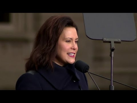 Gretchen Whitmer sworn in as Michigan governor