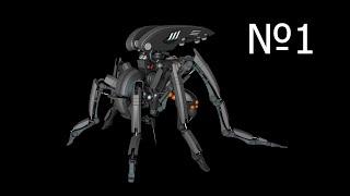 Cinema 4d: Robot Mosquito Видео урок 1