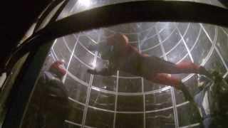 видео полет на аэродинамической трубе