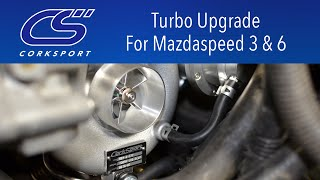 CS Turbocharger For Mazdaspeed 3 & 6