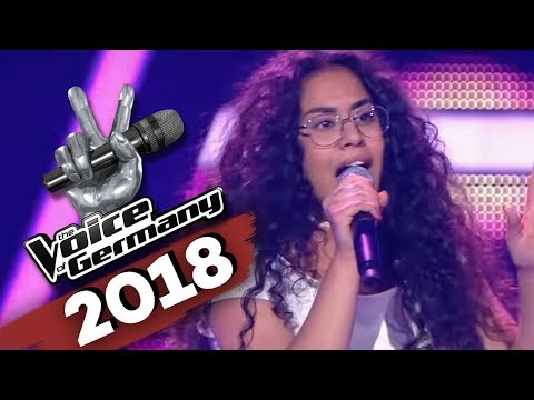 David Guetta & Sia - Flames (Linda Alkhodor) | The Voice of Germany | Blind Audition