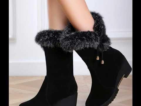 Sepatu wanita model boots
