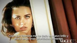 Vogue Spain June 2010 - Adriana Lima Behind The Scenes