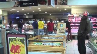 African American in Africa:  Shopping in Namibia