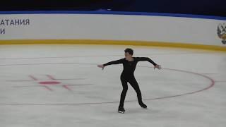 Дмитрий Алиев ПП Контрольные прокаты 2018-2019 Dmitriy Aliev FS Open Skates