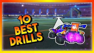 Gambar cover These 10 Rocket League Drills Will SKYROCKET Your Mechanics