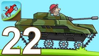 Hill Climb Racing - Gameplay Walkthrough Part 22 - Tank (iOS, Android)