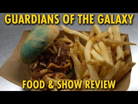 Guardians of the Galaxy Food & Awesome Mix Live Review   Epcot