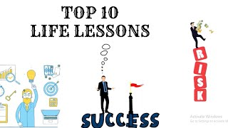 Top 10 Life Lessons People learn TOO LATE | Inspirational | Motivational