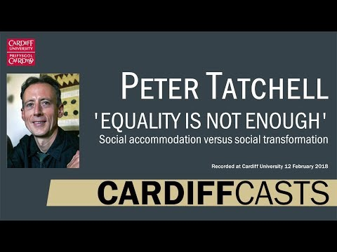 Peter Tatchell: Equality is not enough