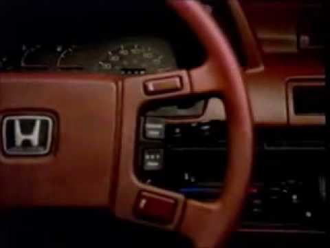 1983-11 Honda Accord Commercial