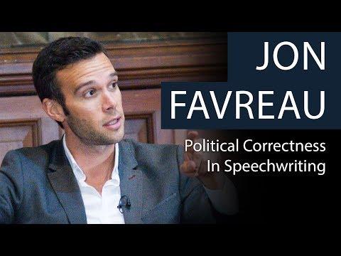Jon Favreau   Political Correctness in Speechwriting