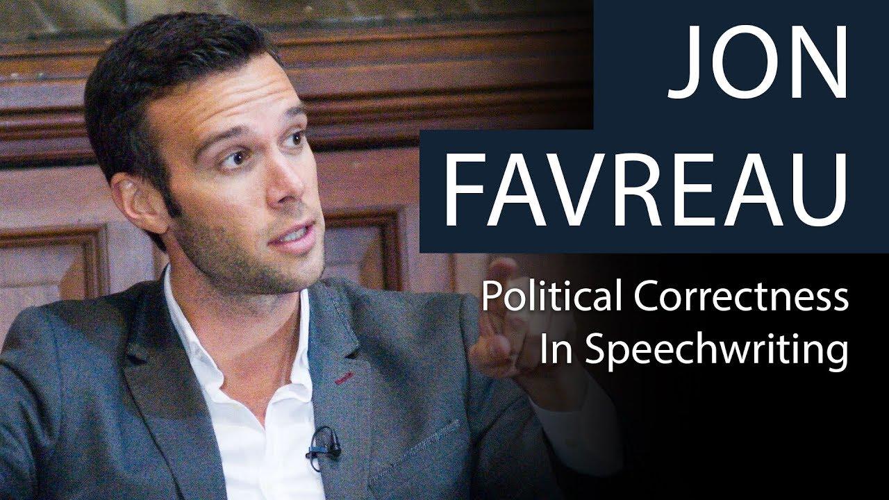 jon favreau political correctness in speechwriting youtubejon favreau political correctness in speechwriting