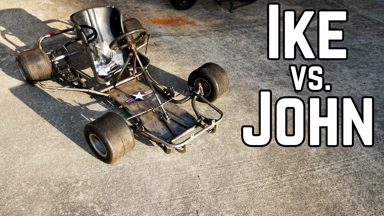Mini Go Kart Build Off (and a Crash)! - YouTube