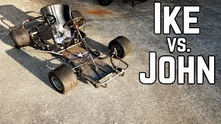 Mini Go Kart Build Off (and a Crash)!