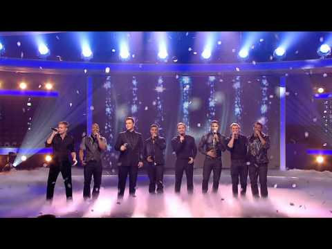 Westlife - Flying Without Wings - ft. JLS [X Factor Final 13-12-2008]
