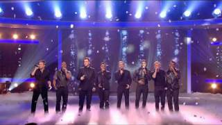 Westlife Flying Without Wings Ft. Jls X Factor Final 13-12-2008