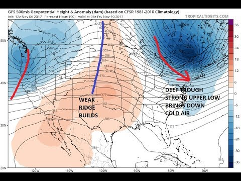 Autumn Finally Arrives In The East Winter Temperatures Friday Saturday