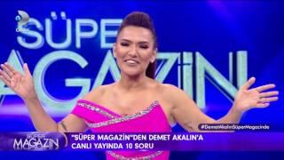 Demet Akalina canlı yayında 10 dobra soru! - Süper Magazin