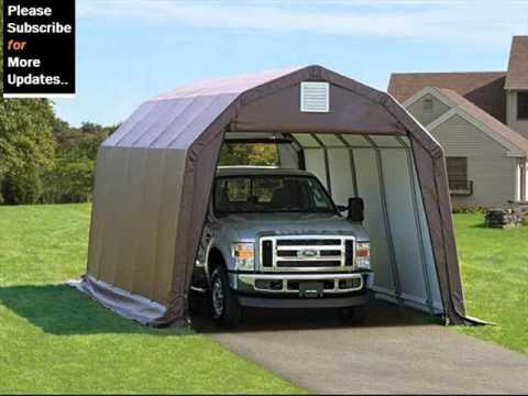 Portable Shelters And Garages & Portable Shelters And Garages - YouTube