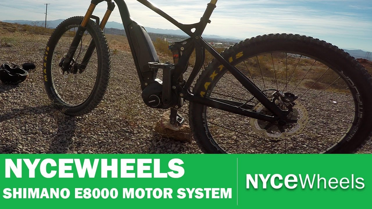 980a542fd0a Shimano E8000 Mid Drive System - First Look | Electric bike tech ...