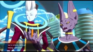 Dragon Ball FighterZ Cutscene Beerus and Whis appear