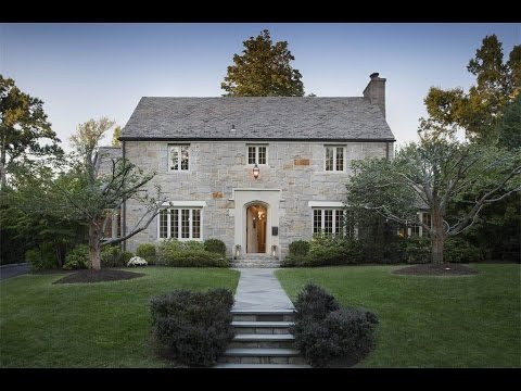Breathtaking Stone Colonial in Scarsdale, New York