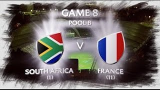 [HK Sevens 2017 Highlights] South Africa vs France