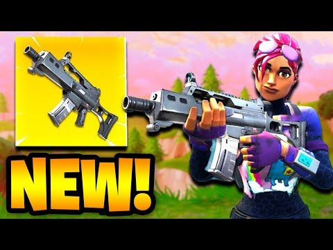 NEW FORTNITE UPDATE OUT NOW! NEW WEAPON UPDATE! (FORTNITE)
