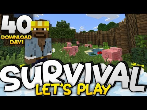 AWESOME ANIMAL FARMS!!!  Survival Lets Play Ep 40 DD  Minecraft Bedrock PE W10 XB1